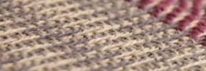 Kierretoimikasta: harmaa kude, loimi 2 lankaa harmaata - 2 lankaa t.harmaata.