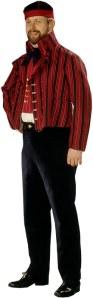 Etelä-Savon miehen kansallispuku (kuvan lähde: www.kansallispuvut.fi)