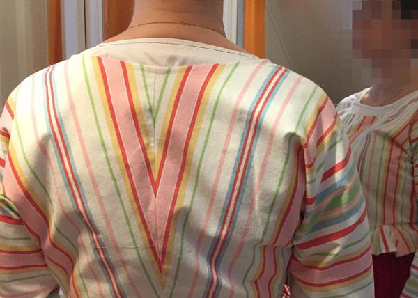 Pielisen-Karjalan kansallispuvun paita valmistettiin mittatilauksena Lajulan kangastuvalla.